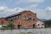 Abandoned factory yard; Lombardy, Italy