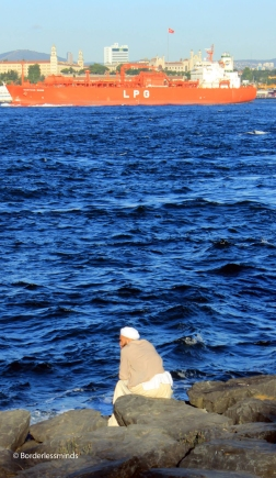 Marmara waterfront; Istanbul,Turkey