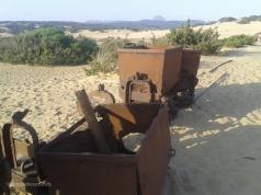 Abandoned iron mine; Sardinia, Italy