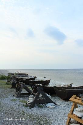 Fishing hamlet; Gotland, Sweden