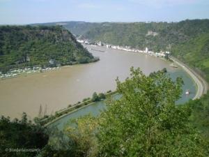 Lorelei, Rhein river; Germany